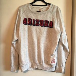 """Arizona"" U of A Victoria Secret ""pink"" sweatshirt"